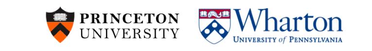 Princeton Wharton Logos
